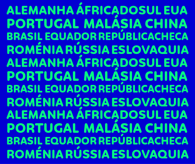 Mapa países Continental MES