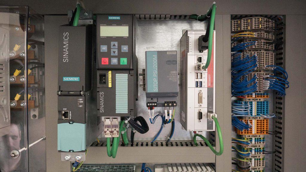 Quadro elétrico Siemens e transformação digital