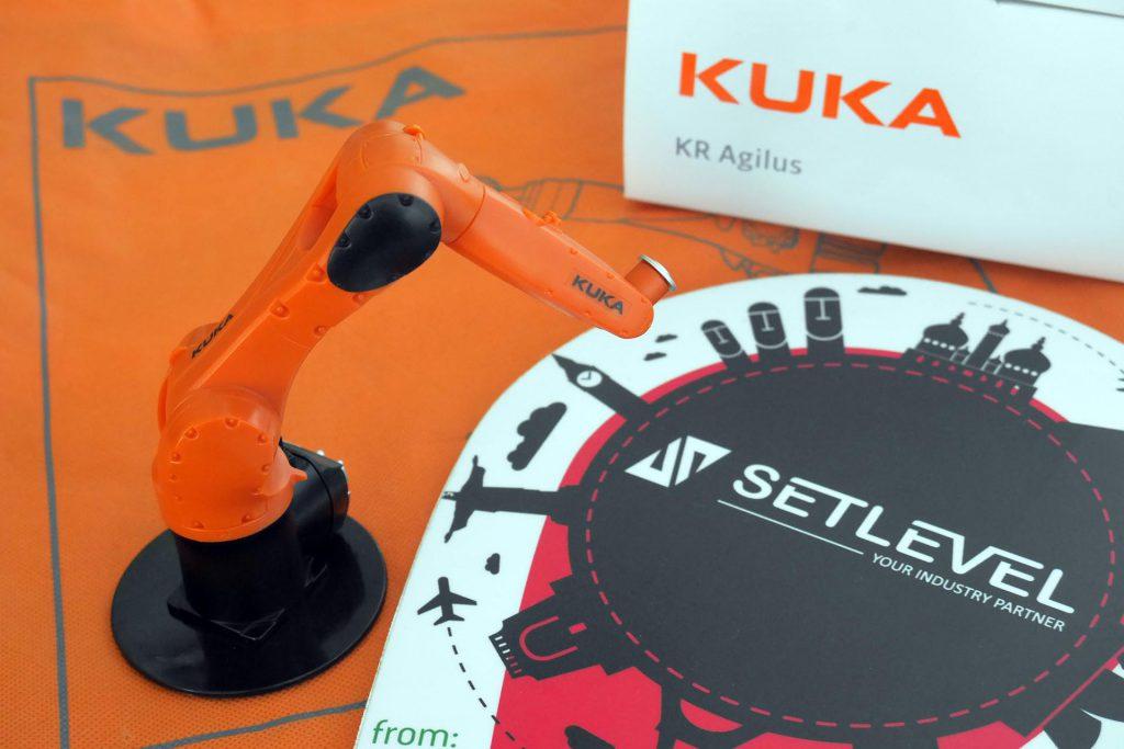 Transformação digital e robótica Kuka